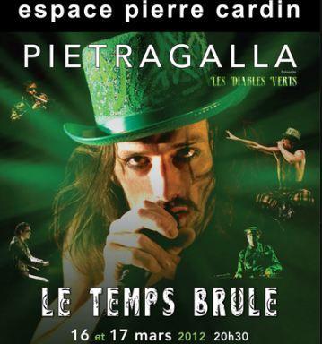 Les Diables Verts, une oeuvre de Pietragalla