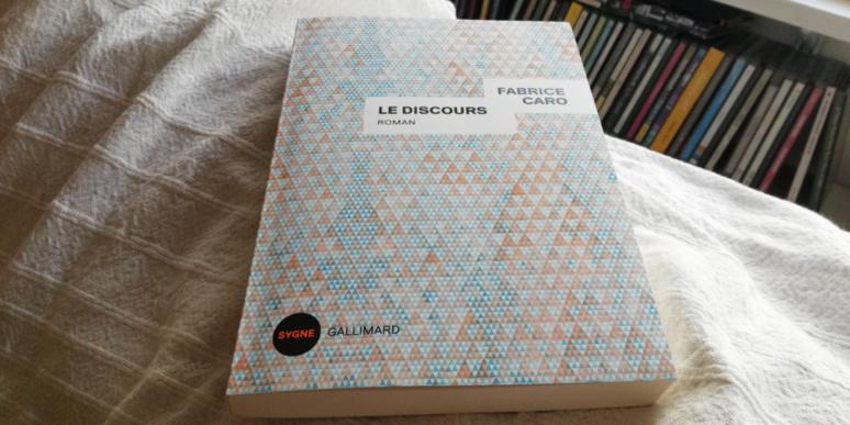 Le Discours de Fabrice Caro. Photo (c) Isabelle Lépine