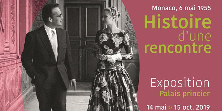 L'affiche officielle de l'exposition. Photo (c) Bureau de Presse du Palais de S.A.S. le Prince de Monaco