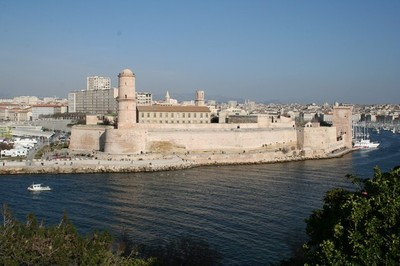 Fort Saint-Jean à Marseille. Photo (c) Robert Valette