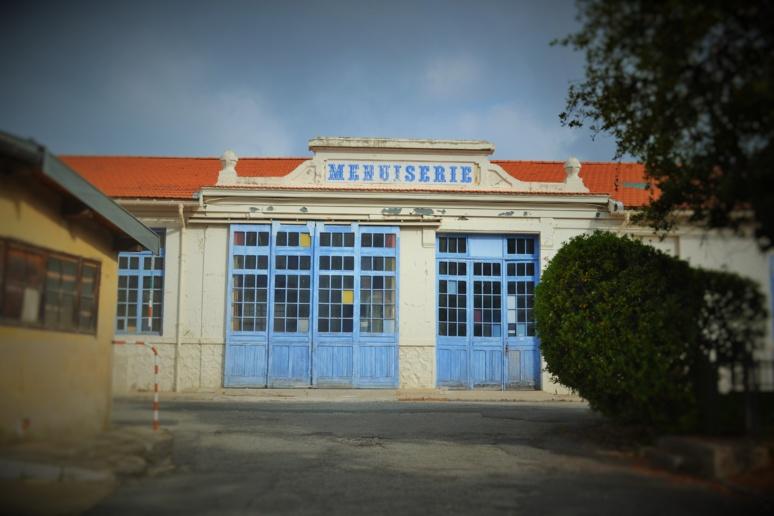 La menuiserie des studios, où sont construits les décors des films, dont ceux des Enfants du paradis. Photo (c) Olivier Strecker
