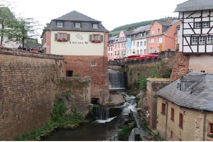 La cascade de Saarburg. Photo (C) Diana YT