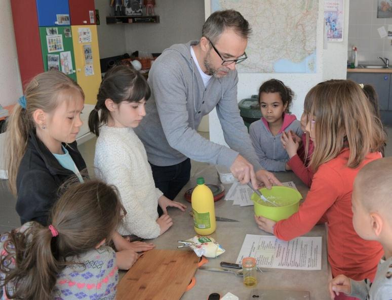 Atelier cuisine avec le chef Lionel Bourgeon (c) Frédérique Gelas