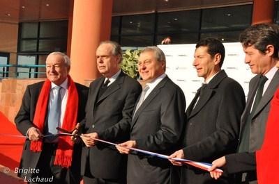 B.Brochand, F.Mitterand, P.Zilk, P.Zilk, D.Lisnard, F.Lamy