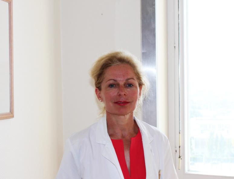 Professeur Évelyne Émery, neurochirurgien et chef du service de neurochirurgie du CHU de Caen © J. P.