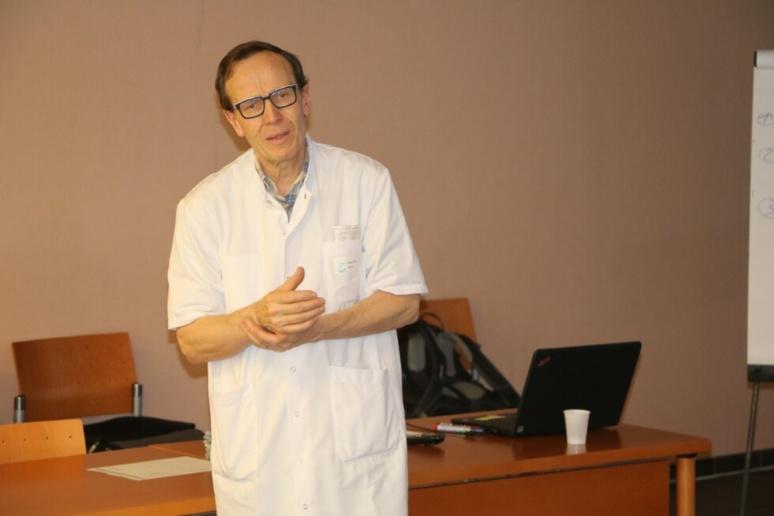 Docteur Patrick Louf, médecin rééducateur au CMPR de Bagnoles-de-l'Orne © Dr Patrick Louf
