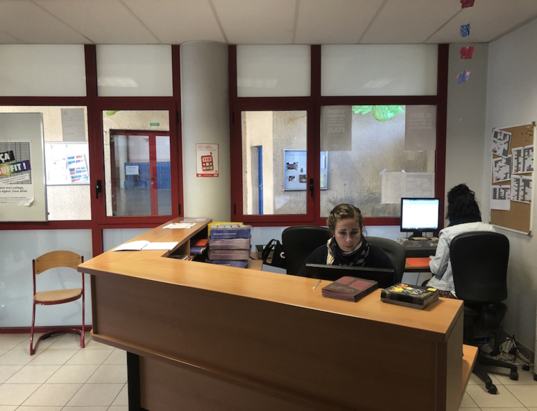 Vie scolaire du collège Balzac à Albi (c) Olesya Arsenieva
