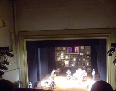 Au théâtre Nottara. Photo (c) Adriana Trifan