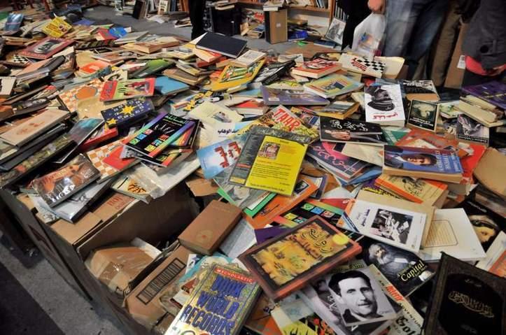 Essayez d'y trouver un livre! Photo (C) Ibrahim Chalhoub