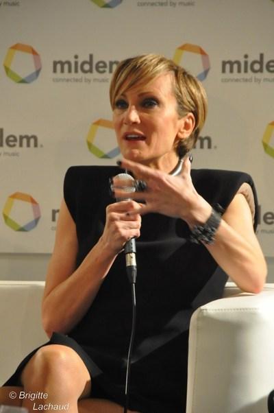 Midem 2012: Patricia Kaas lance l'année Piaf