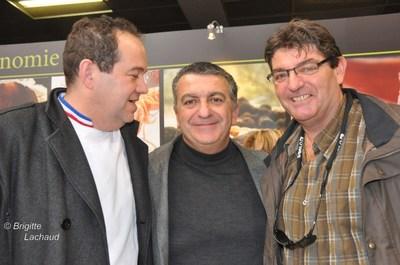 Sur le stand de Provence gastronomie Gérard Grech