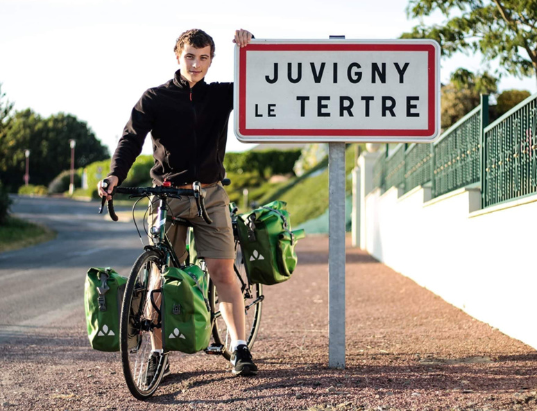 Il partira de Juvigny-le-Tertre le 2 février 2020 © Tanguy Davy