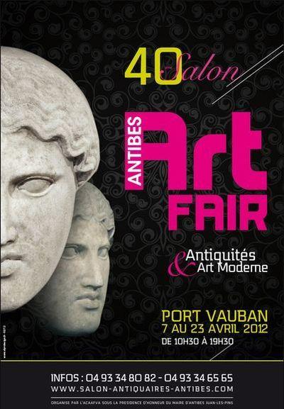 40e Salon d'Antiquités, Brocante et Art Moderne d'Antibes