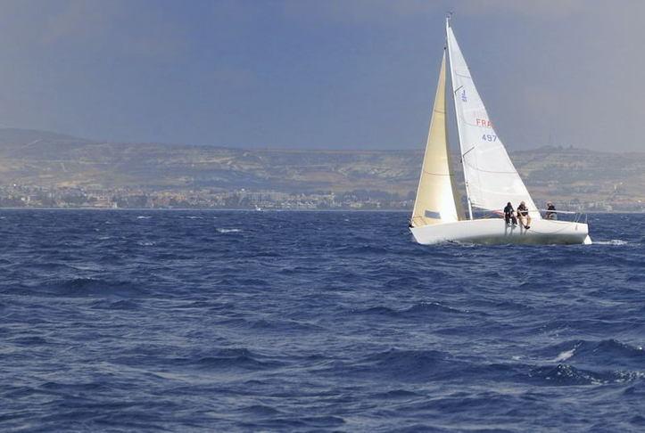 Dans les eaux chypriotes. Photo (C) Ibrahim Chalhoub