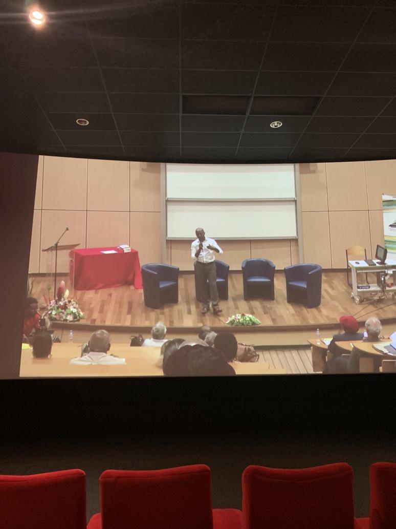 """"""" Navi Radjou"""", penseur international de l'économie frugale, qui propose des nouvelles approches avec sa devise: """"Comment faire mieux avec moins"""". Nouria Anseur."""