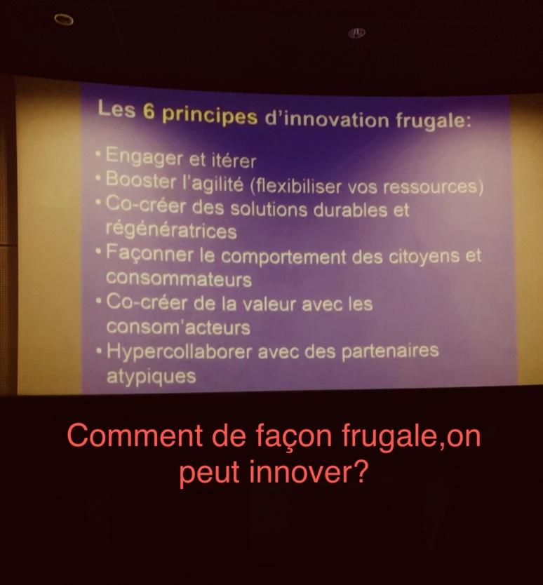 Comment de façon frugale on peut innover?. Nouria Anseur.