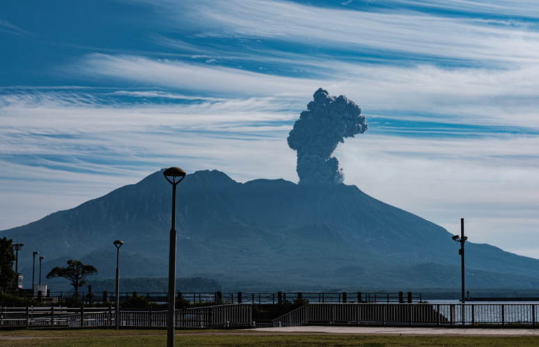 Eruption du Sakurajima ©Florent Guérout
