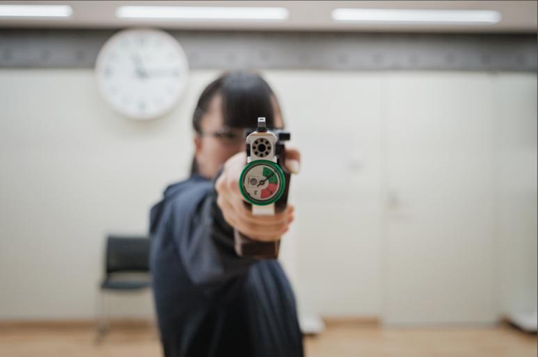 Aoi Nishida à l'entrainement ©Florent Guérout