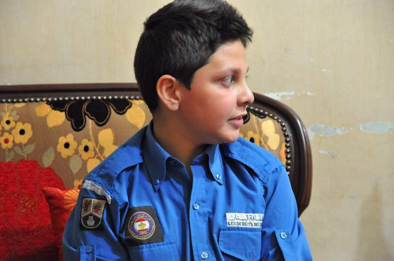 Scouts toujours… prêts! Photo (C) Ibrahim Chalhoub