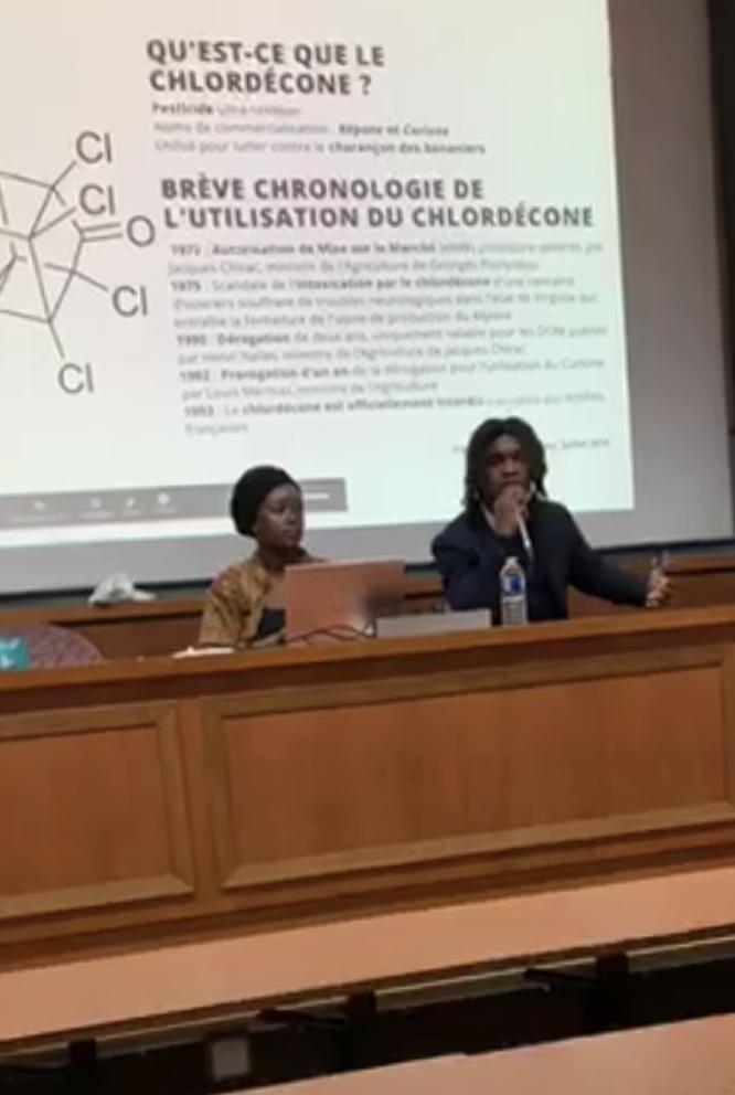 La conférence-débat du 5 novembre dernier à Paris avait pour but d'informer les ultramarins de l'hexagone et de leur donner la parole. Facebook, capture d'écran.