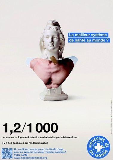 Médecins du Monde 2012 Votez Santé !