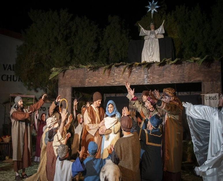 Une représentation théâtrale de la naissance de Jésus-Christ (c) Michelle Scott de Pixabay