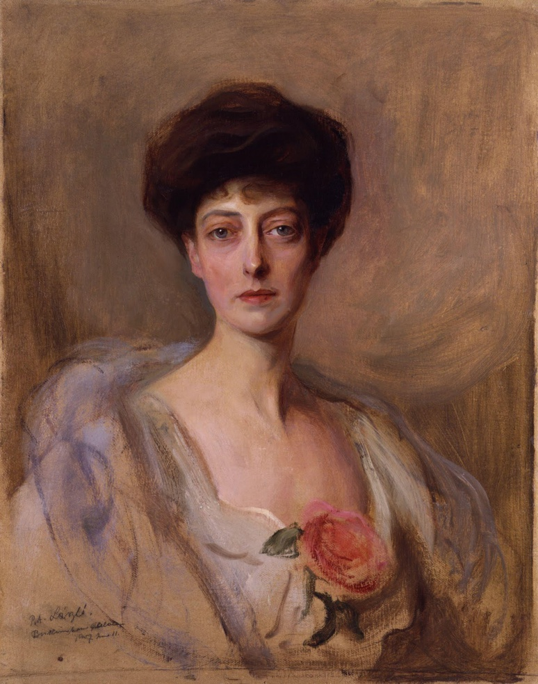 Princesse Victoria de Galles de Philip Alexius de Laszlo (c) DR