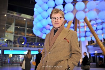 Robert Redford at the 02 for London Sundance (c) Getty Images