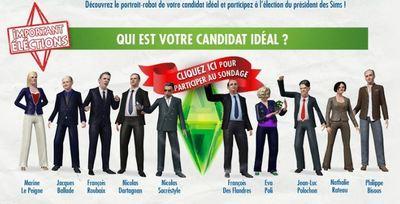 Cliquez sur l'image pour choisir le président idéal
