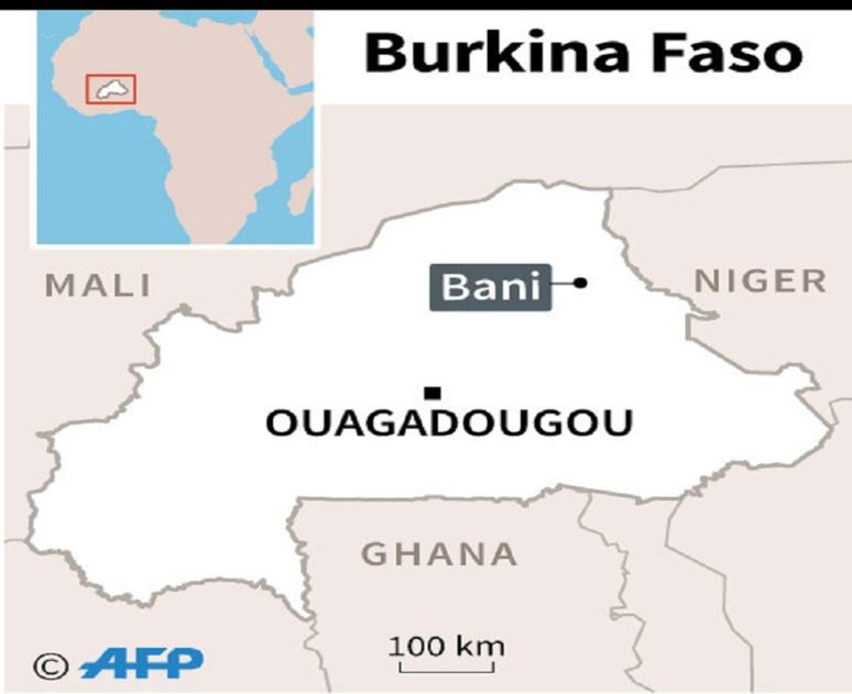 Bani, dans le nord-est du Burkina Faso.(c) AFP