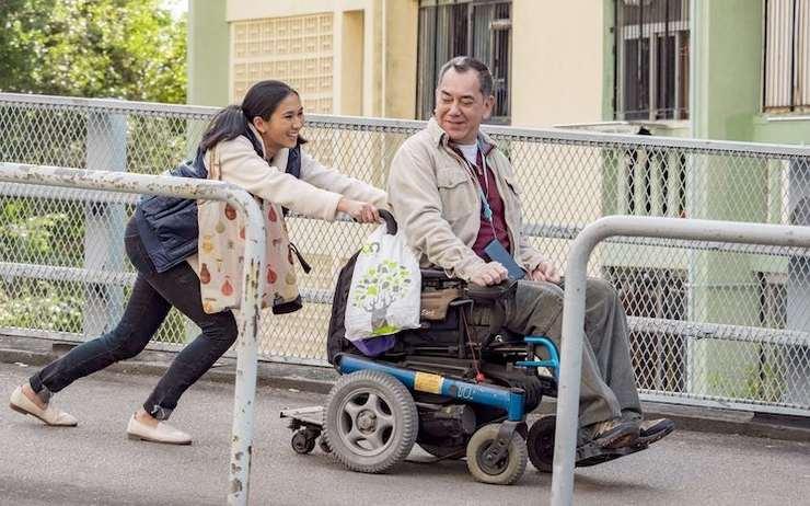 Les deux acteurs principaux à l'affiche du film Still Human. (c)Still Human