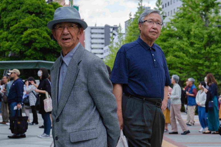 Quel futur pour les personnes âgées au Japon ? ©Florent Guérout