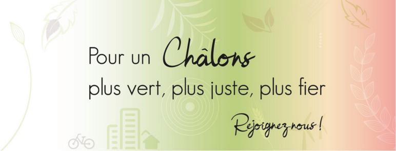 Un slogan qui marque les esprits © photo de couverture de la page Facebook de la liste Notre passion c'est Châlons