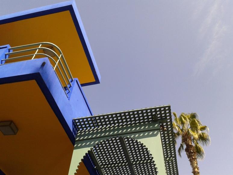 Le ciel de Marrakech depuis le jardin de Majorelle (c) HappyPlanete - Pixabay