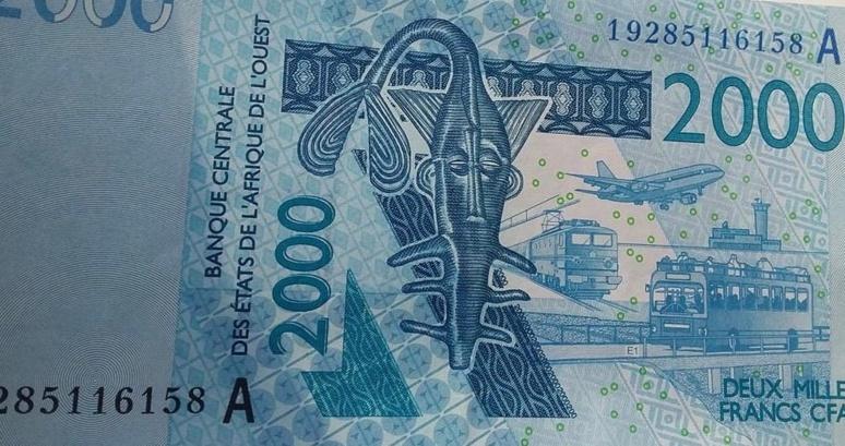 Aperçu d'un billet de 2 mille francs CFA(c)Okaigne Henri