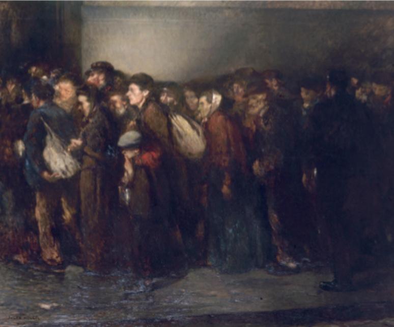 La Soupe des pauvres , 1906 Huile sur toile Paris, Petit Palais, musée des Beaux-Arts de la Ville de Paris © Roger Viollet © ADAGP, Paris 2019