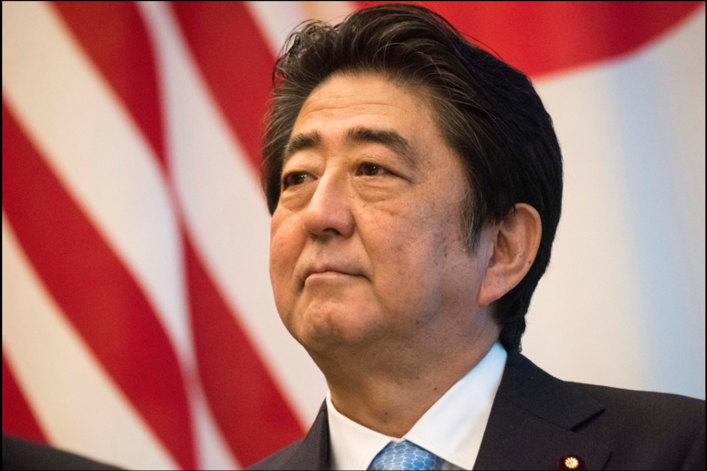 Shinzo Abe chute dans l'opinion publique ©Wikimedia Commons