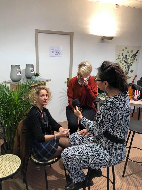 L'atelier de la condition féminine a été couvert par une femme © Notre passion c'est Châlons