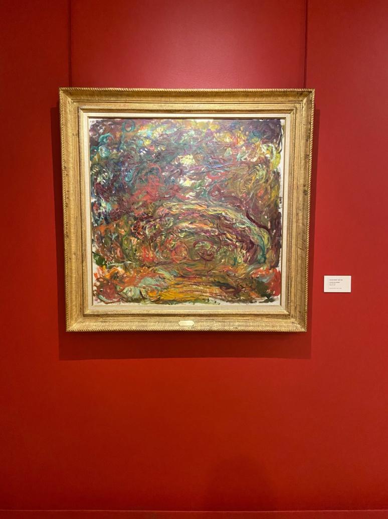 L'allée des rosiers de Claude Monet (c) Maxime Delahousse