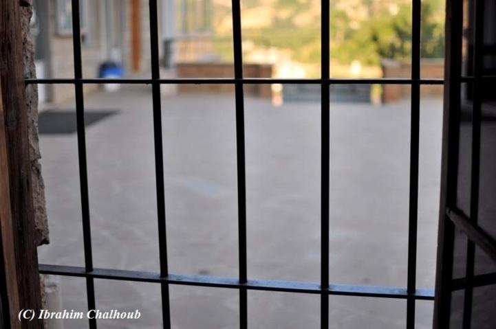 Vu de l'intérieur! Photo (C) Ibrahim Chalhoub