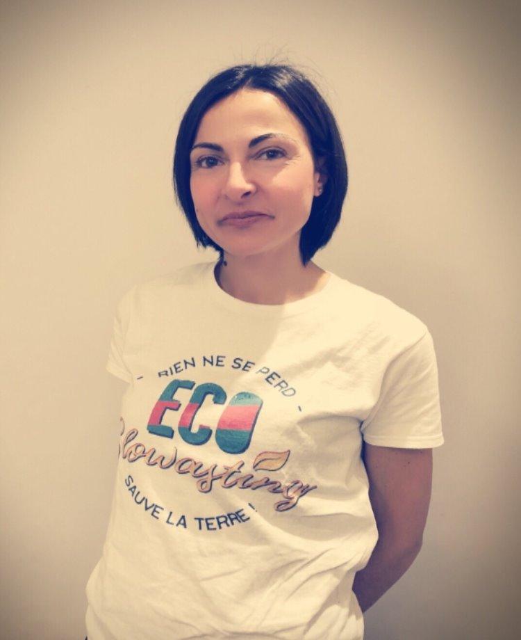 Elisa Alberto, la créatice d'Ecoslowasting, un site dédié à la lutte contre le gaspillage (c) Elisa Alberto