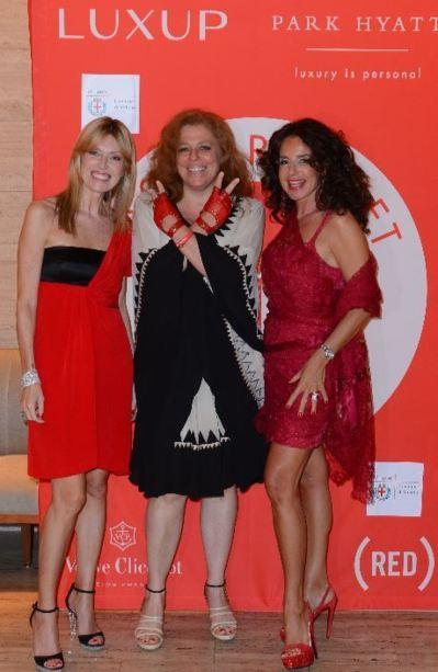 Umberta Beretta, Olivia Marriotti and Gaberiella. (c) DR