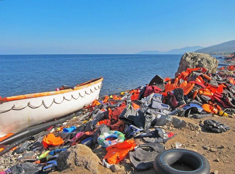 Beaucoup de migrants tentent la voie maritime et parviennent jusqu'aux îles grecques proches de la terre turque. (c) Pixabay.
