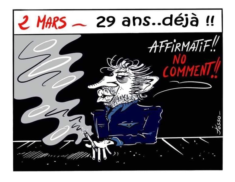 29 après sa disparition, Gainsbourg toujours dans les esprits ! (c) Josso