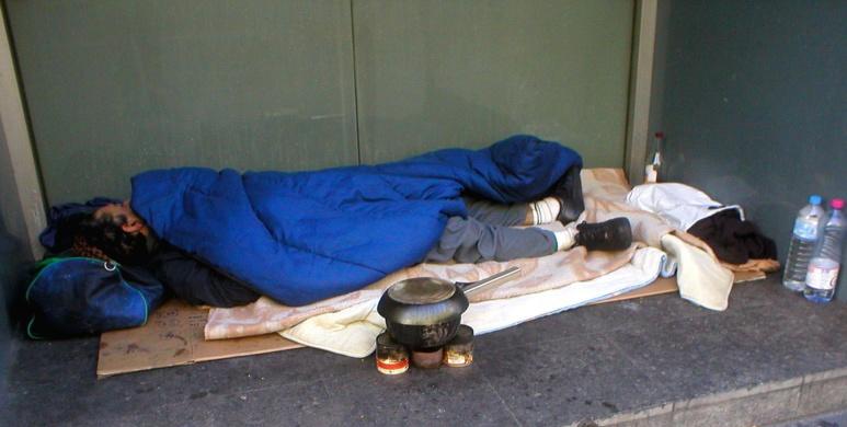 Venir en aide aux sans-abris (c) Wikipedia