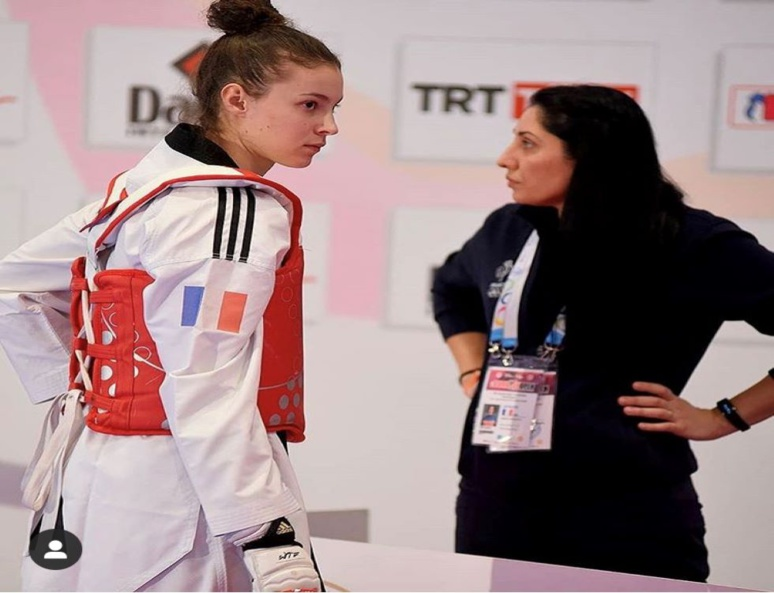 Estelle Vander-Zwalm, équipe de France de Taekwondo (C) Estelle Vander-Zwalm, Instagram