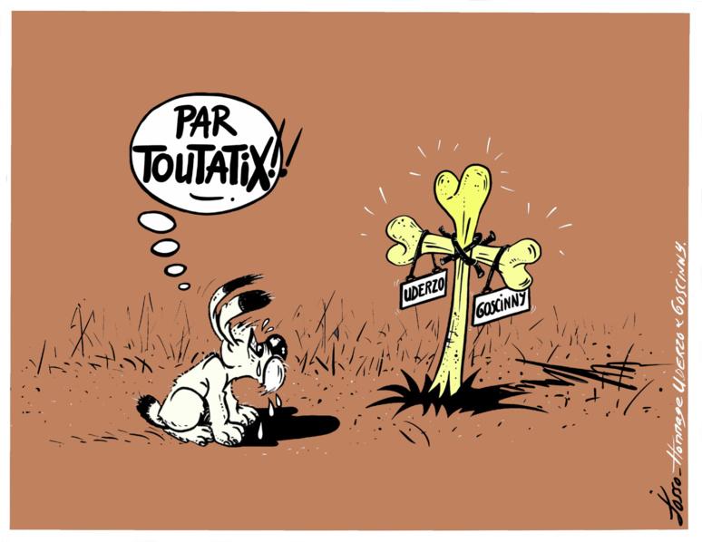 Décès du dessinateur d'Astérix (c) Jocelyn Josso