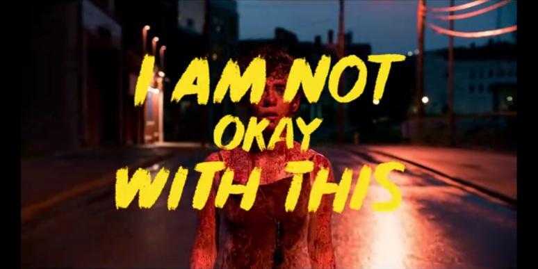 """La première scène de la saison 1 de la série """"I am not okay with this"""" sur Netflix © Fanny Jacob"""