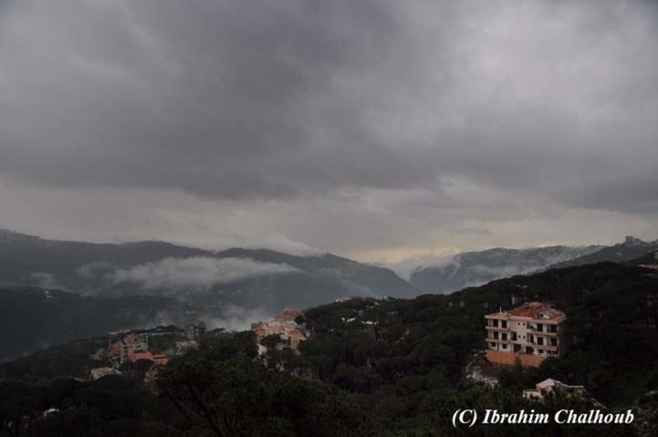 Entre les montagnes. Photo (C) Ibrahim Chalhoub
