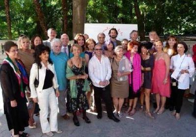 Artistes monégasques à Madrid. Photo (c) DR